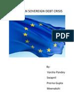 European Sovereign Debt Crisis