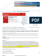Perioperative autotransfusion and functional coagulation analysis in total hip replacement. G. Ekbäck