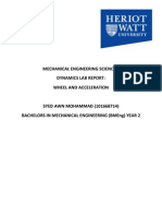 Lab Report of Dynamics