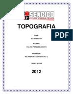 Monografia El Teodolito