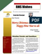 December 2013 Newsletter