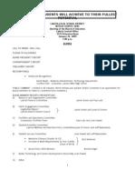 1-26-09 Agenda