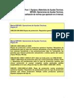 Actualización de normas que aparecen en el manual de Operaciones de Ayudas Técnicas