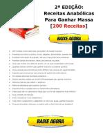 Download Nova Edição Receitas Anabólicas Para Ganhar Massa