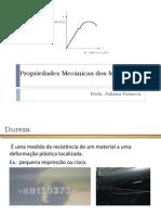 CM Aula 09 - Propriedades Mecânicas dos Metais (III)