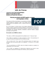 10-05-2011 Felicita presidenta del DIF tapatío a mamás de Hospitales Civiles