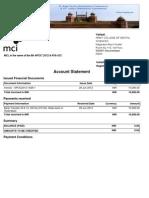 Apoc2012 i 828 Account Statement