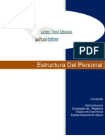 Estructura Del Personal