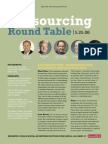 Business Week -- Outsourcing Round Table