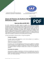 Hacer Uso Eficaz de ISO 19011