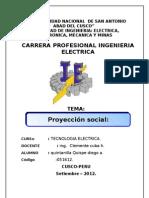 Proyeccion Social (Diego)