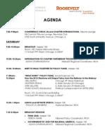 2012 Roosevelt Institute Midwest Regional Conference Agenda