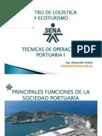 Tecnicas de Operacion Portuaria i