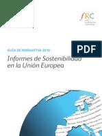 Guía de Normativa 2010_Informes de sostenibilidad a la UE