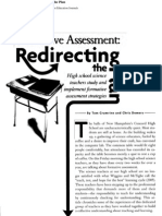 Formative Assessment in science education