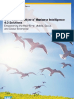 SAP BusinessObjects Business Intelligence 4 0 Solutions
