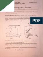 Mécanique des Fluides - Octobre 2012 - page 1