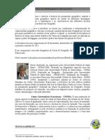 HISTÓRIA DO PENSAMENTO GEOGRÁFICO-TEXTOS E EXERCÍCIOS - 2012