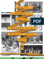 Winnetka Community House Winter/Spring Programs 2013