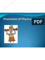 promotion of physical activity 10