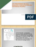 Presentación PROYECTO PROTAGONISTAS EN EL CONFLICTO pp