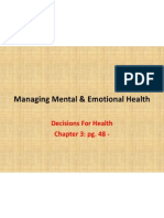 managing mental  emotional health 9