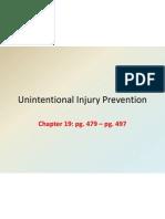 unintentional injury prevention 9