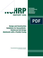 Design and Construction Guidelines for Geosynthetic Reinforced Soil Abutments