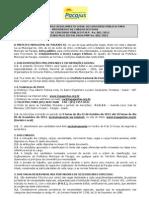 Edital da Prefeitura de Pacajús