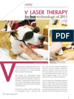 Class IV Laser Therapy the Hot Technology of 2011