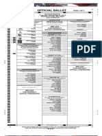 Sample Detroit Ballot