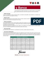 Reglamento El Punto y Banca