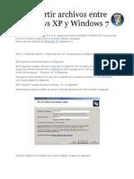 Compartir Archivos Entre Windows XP y Windows 7