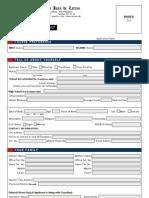 Admission Form College Letran
