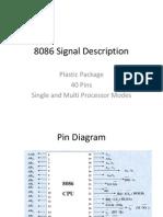 8086 Signal Description