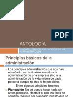 Presentacion de Antologia