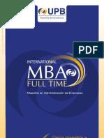 Brochure MBA Full Time 2013_0