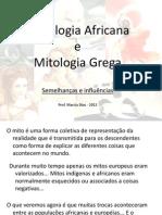 Comparacao Mitologia Africana e Grega