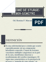 Sindrome de Sturge Weber Dimitri