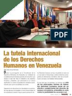 La tutela internacional de los derechos humanos en Venezuela. Por Jordy Moncada