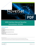 Novel Sat NS2000 Web UG