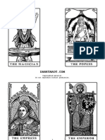 picture about Printable Tarot Flashcards titled Of course_No Spreads - Handout Actively playing Playing cards Toys