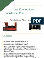 El Consejo Económico y Social en el Perú PPT