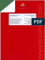 Financial Report Pt Adhi Karya