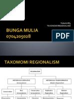 TAXONOMI REGIONALISM