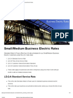 Medium Business Tariffs