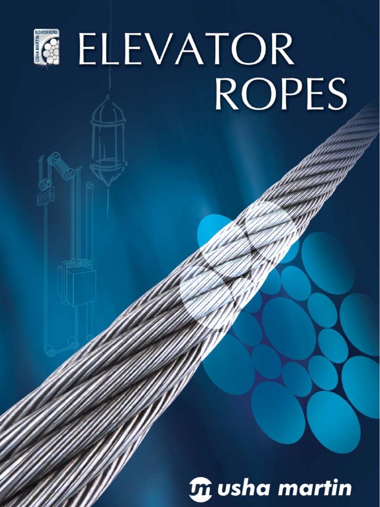 Elevator-ropes Usha Martin | Wire | Rope