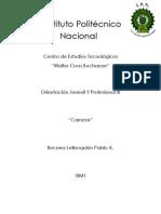 Orientación Juvenil y Profesional III (Carreras)