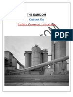India's Cement Industries-Outlook