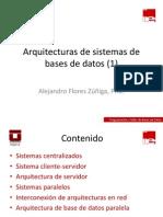 3.1 - Introducción a la arquitectura de sistemas de bases de datos (1)